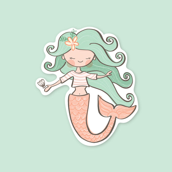 Mermaid Vinyl Sticker