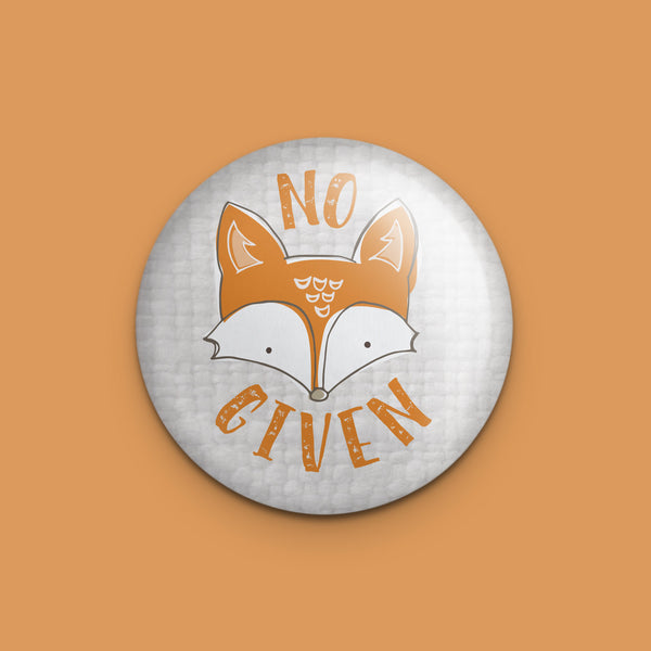 No Fox Given Magnet or Mirror