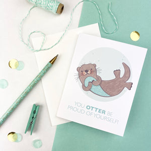 Otter Be Proud Card