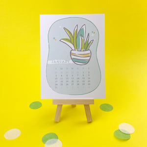 2021 Pretty Plants Desk Calendar