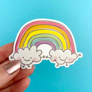 Rainbow Vinyl Sticker