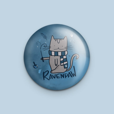 Ravenpaw Harry Potter Pun Pin