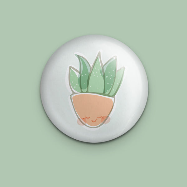 Smiling Aloe Pin