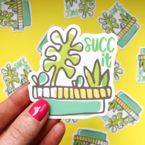 Succ It Vinyl Sticker
