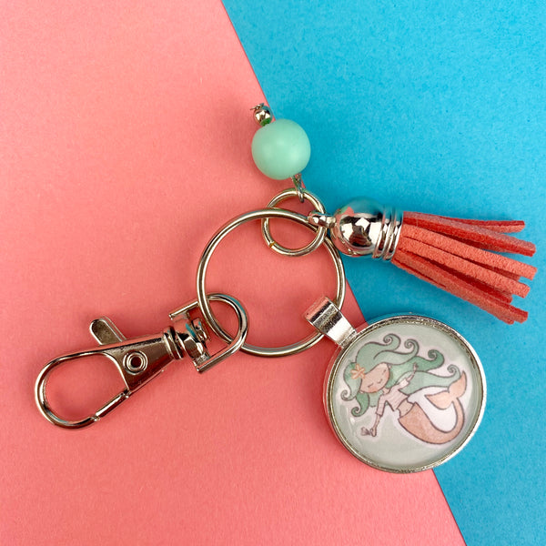 Sweet and Cute Cabochon Key Chain