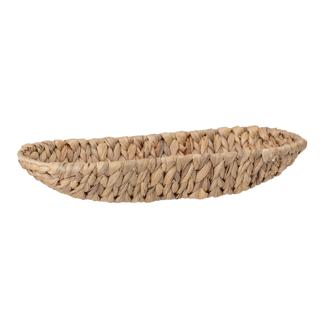 natural seagrass bread basket