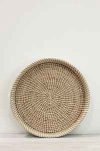 seagrass tray handcrafted