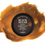 SKINFOOD Black Sugar Perfect Essential Scrub 2X : All Skin Types (210 G)