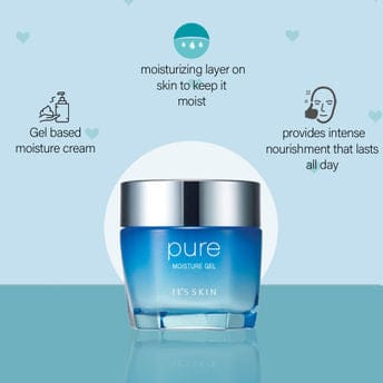 It's Skin Pure Moisture Gel For Hyaluronic Acid and Wrinkels Free Unisex