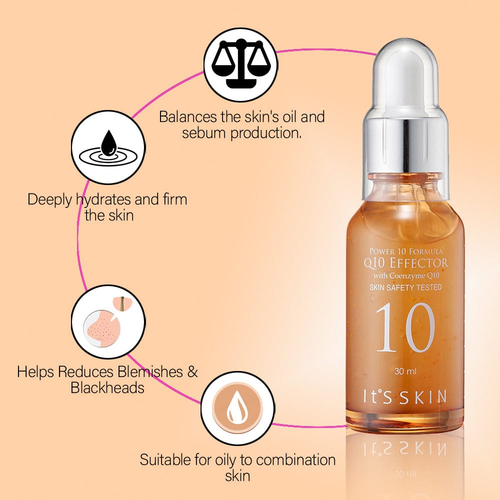 It's Skin Power 10 Formula Q10 Effector For Oily to combination skin Unisex