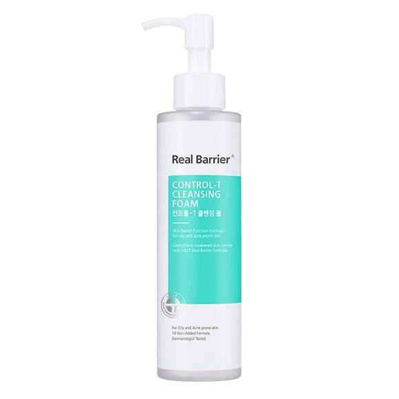 Real Barrier Control-T Cleansing Foam 180g For Deep Cleansing Unisex