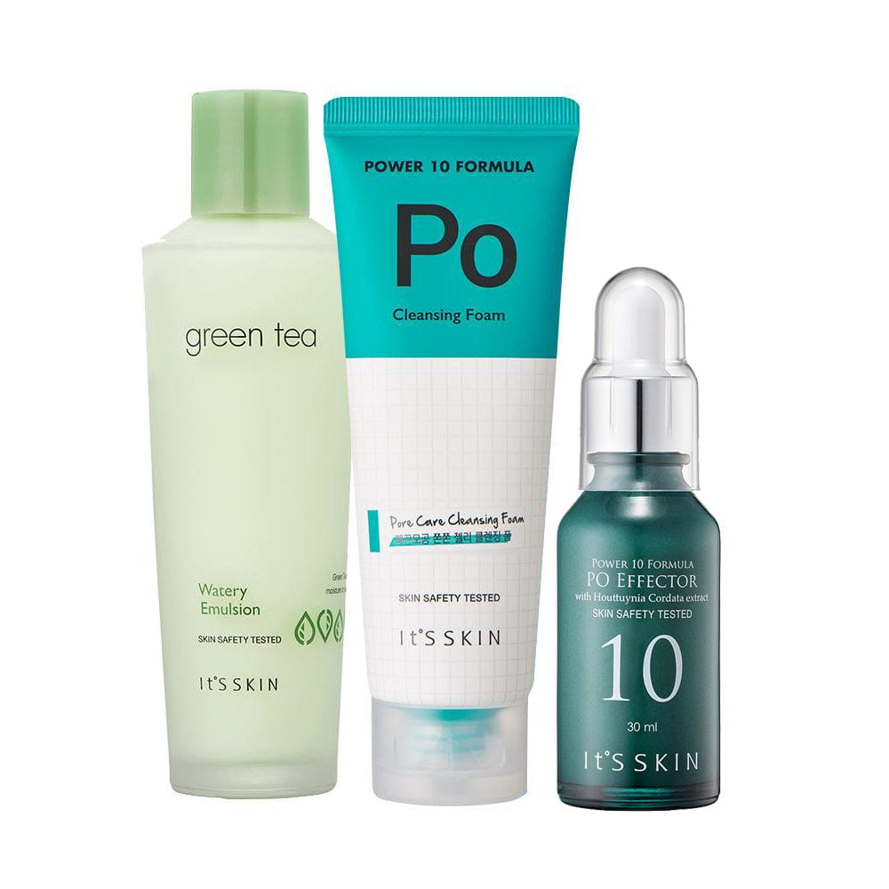 Pore Removal Special : Sebum control and pore diminishing