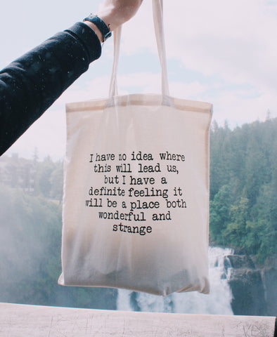 Wonderful & Strange Tote Bag