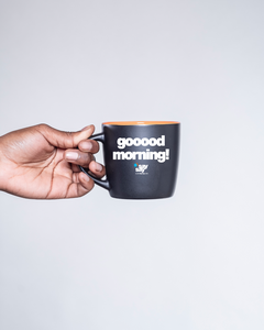 "say say Tasse ""gooood morning"""