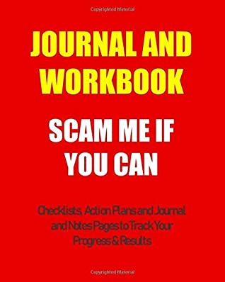 Journal and Workbook: Scam Me If You Can