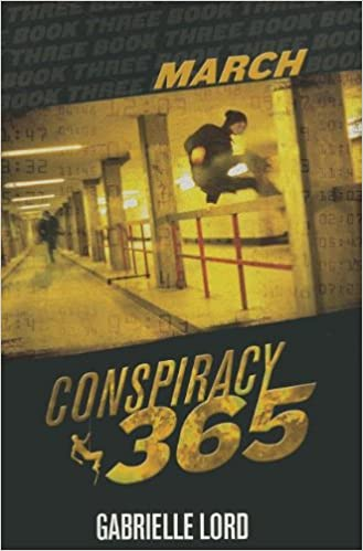 Conspiracy 365:  March - Gabrielle Lord