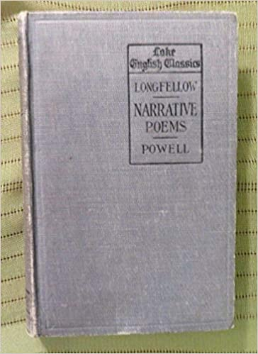 Longfellow Narrative Poems -Powell  1919