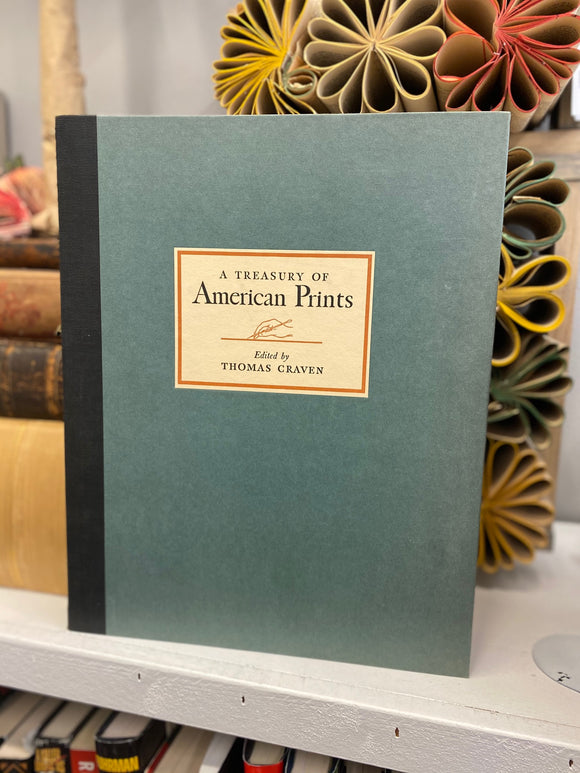 A Treasury of American Prints - Thomas Craven