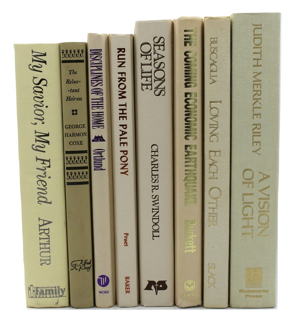 In Harmony: Mixed Neutral Books by the Foot