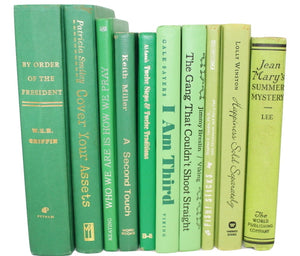 Go Green: Green Books by the Foot