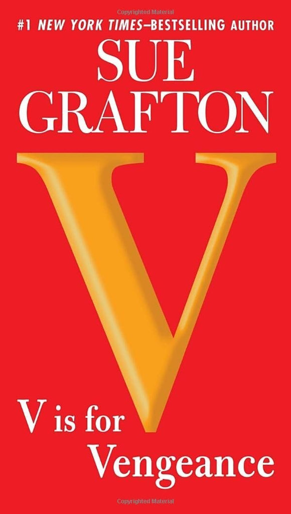 V is for Vengeance - Sue Grafton