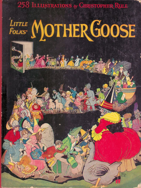 Little Folks' Mother Goose- Christopher Rule