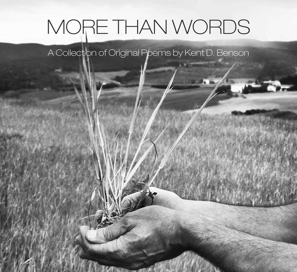 More Than Words: A Collection of Original Poems - Kent David Benson