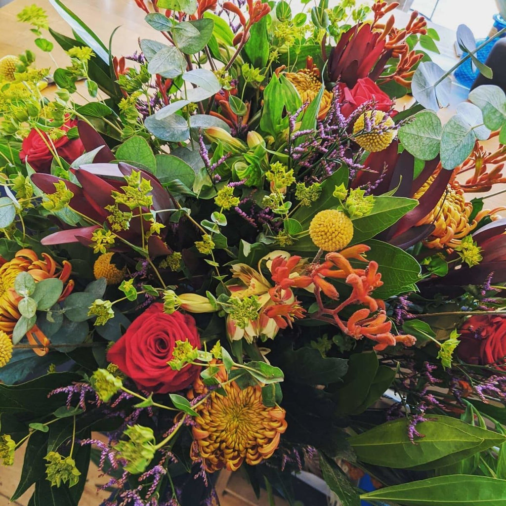 Bespoke Hand-Tied Flower Bouquets - The Cove
