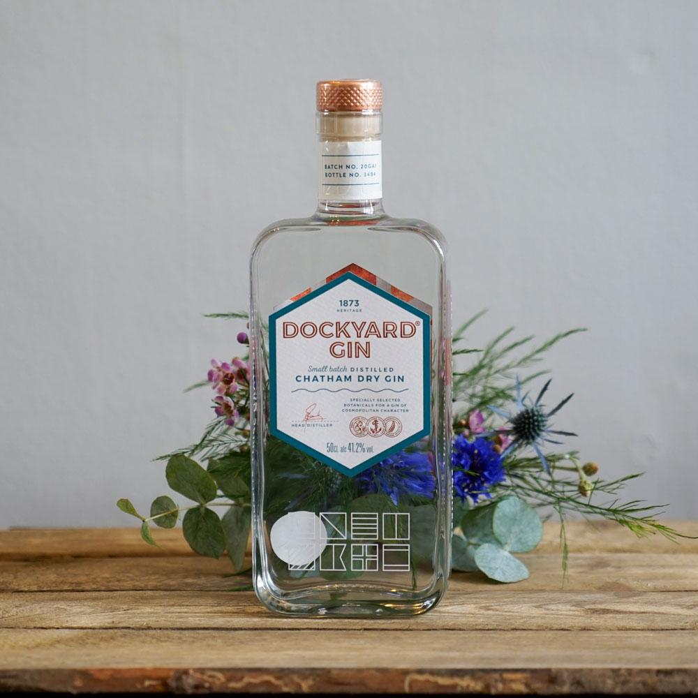 Copper Rivet, Dockyard Chatham Dry Gin - The Cove
