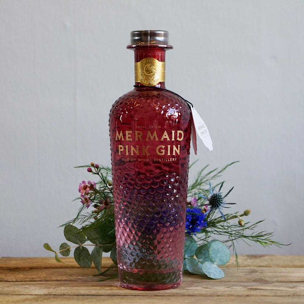 Mermaid Pink Gin - The Cove