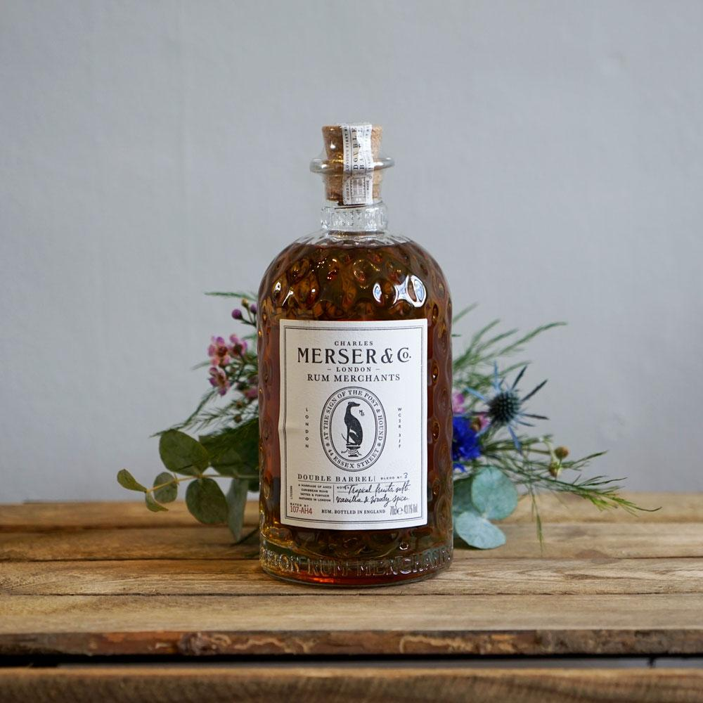 Merser and Co, Double Barrel Rum - The Cove