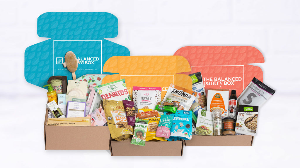 The Balanced Company is a Canadian lifestyle company offering subscription boxes of healthy snacks, pantry staples and lifestyle products to nourish your body, mind and soul.