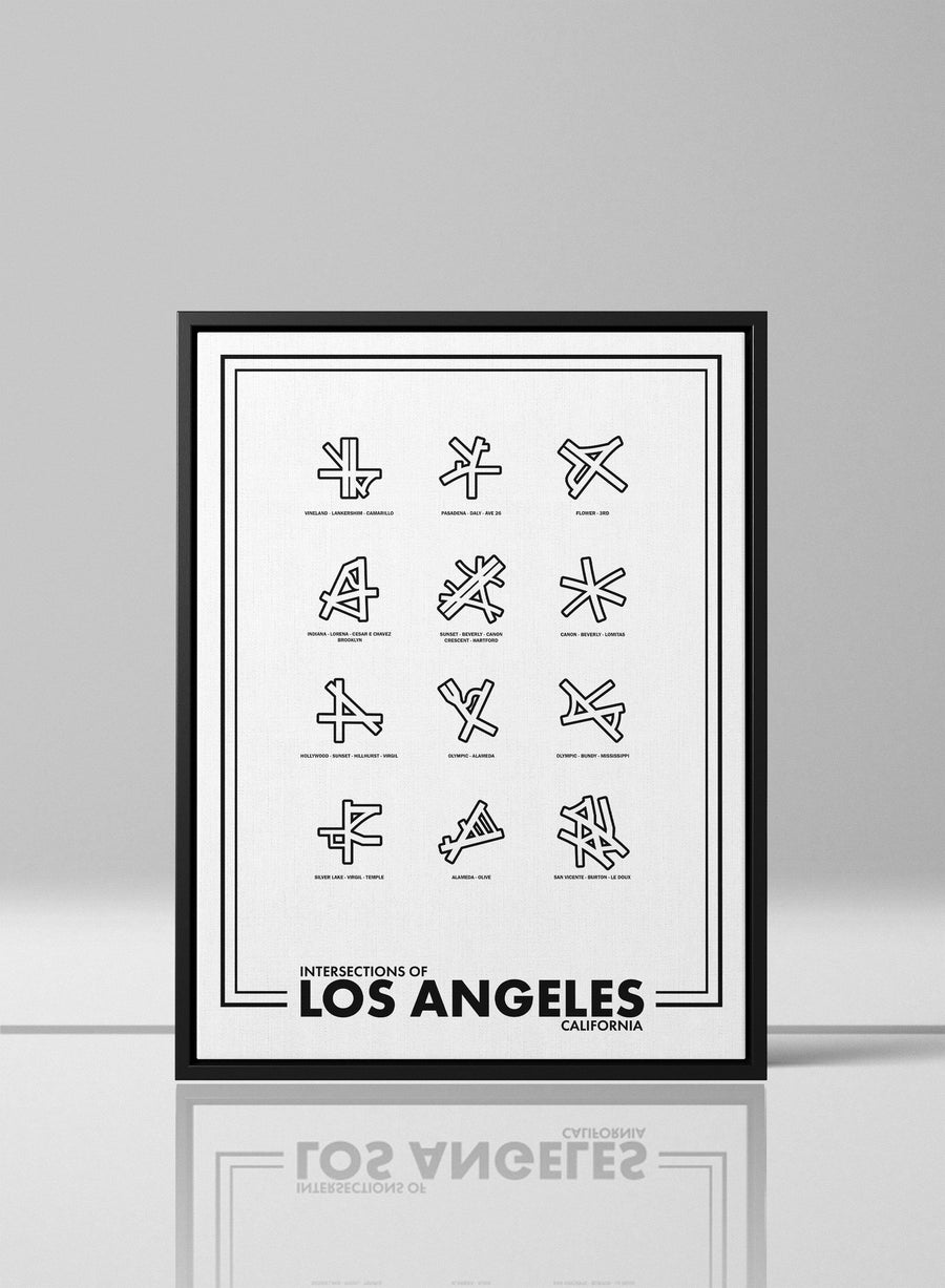 Intersections of Los Angeles