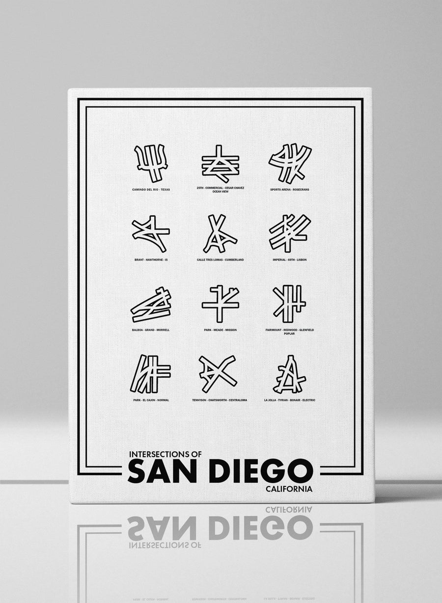 Intersections of San Diego