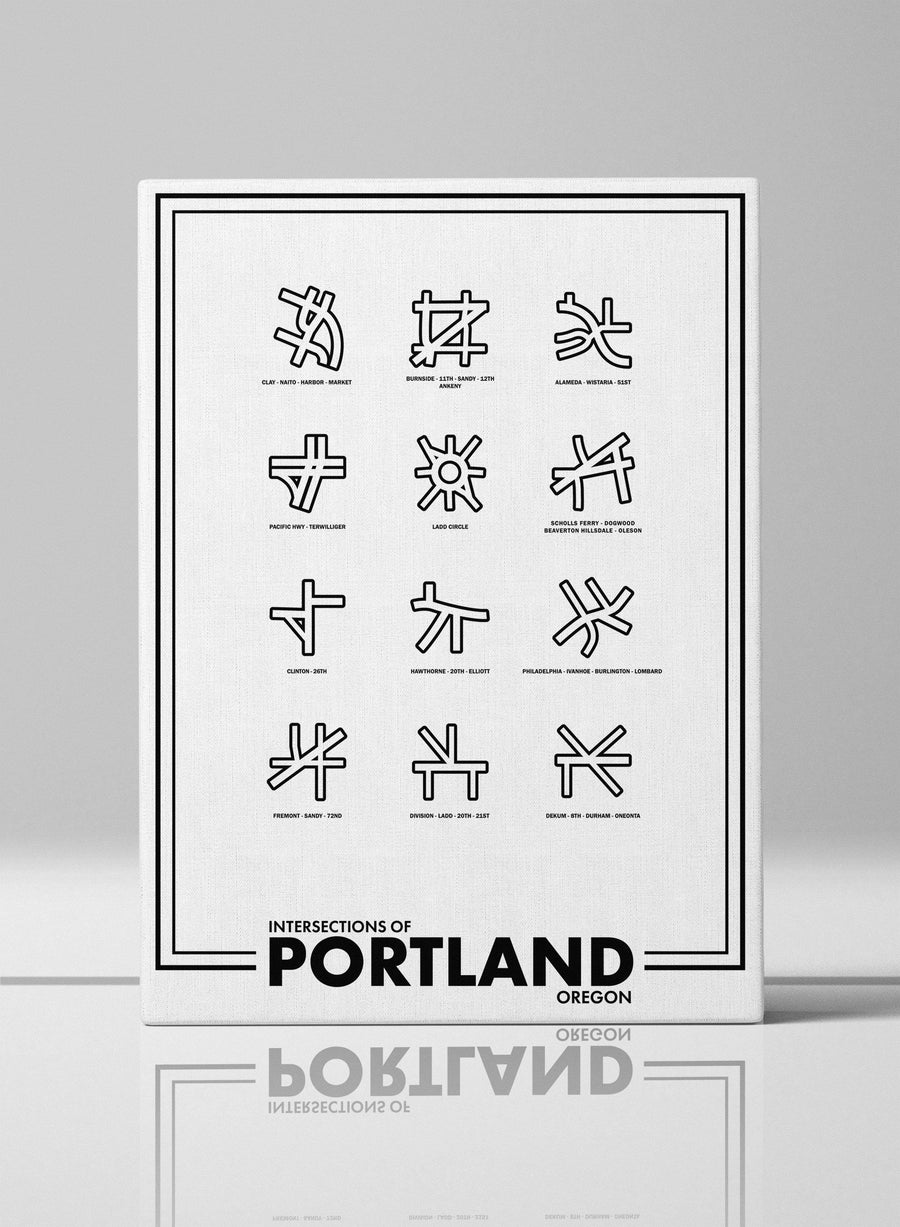 Intersections of Portland