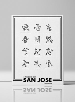 Intersections of San Jose