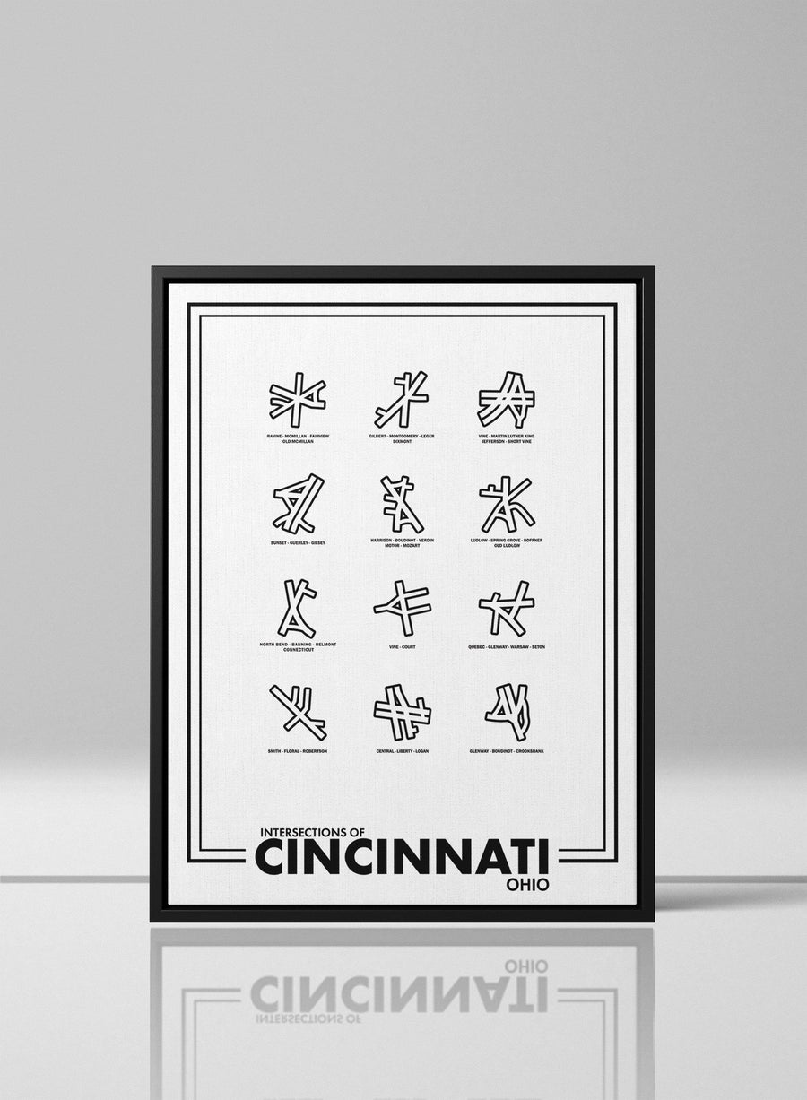 Intersections of Cincinatti