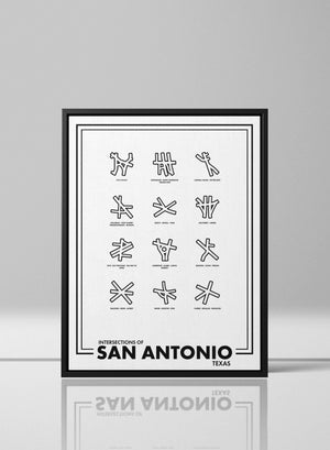 Intersections of San Antonio