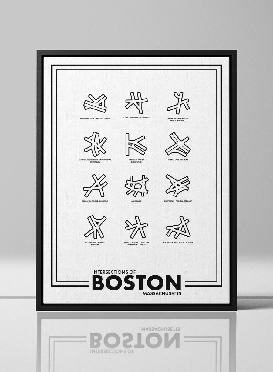 Intersections of Boston