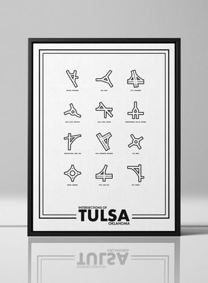 Intersections of Tulsa