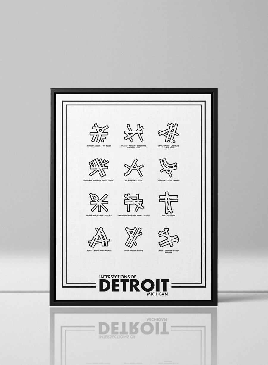 Intersections of Detroit