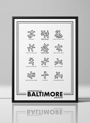 Intersections of Baltimore
