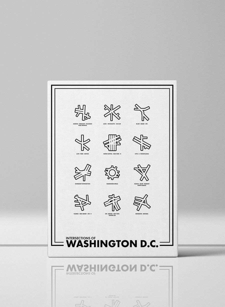 Intersections of Washington D.C.