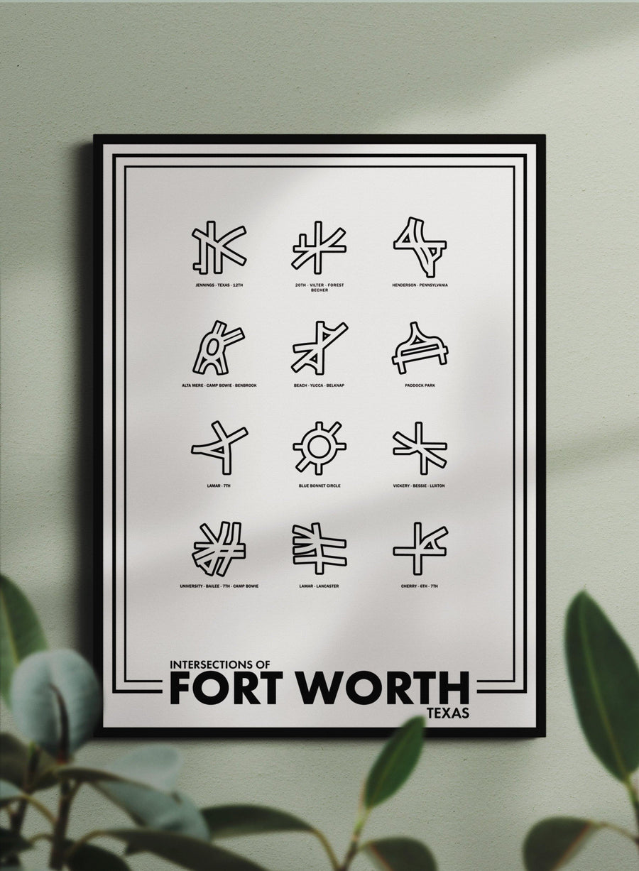 Intersections of Fort Worth