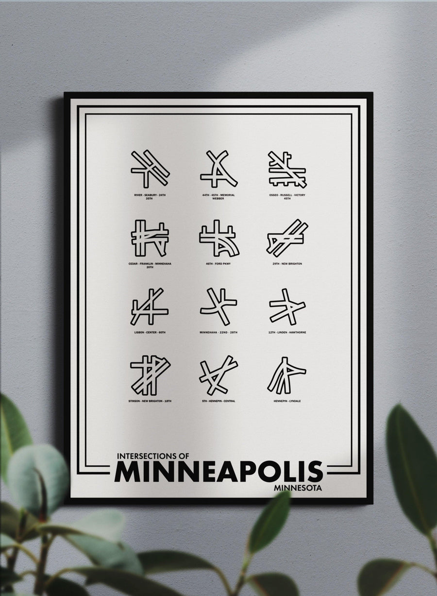 Intersections of Minneapolis