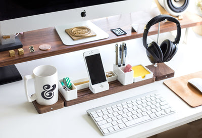 Basics of desk organizing