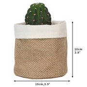 Kraft Paper Flower Pot