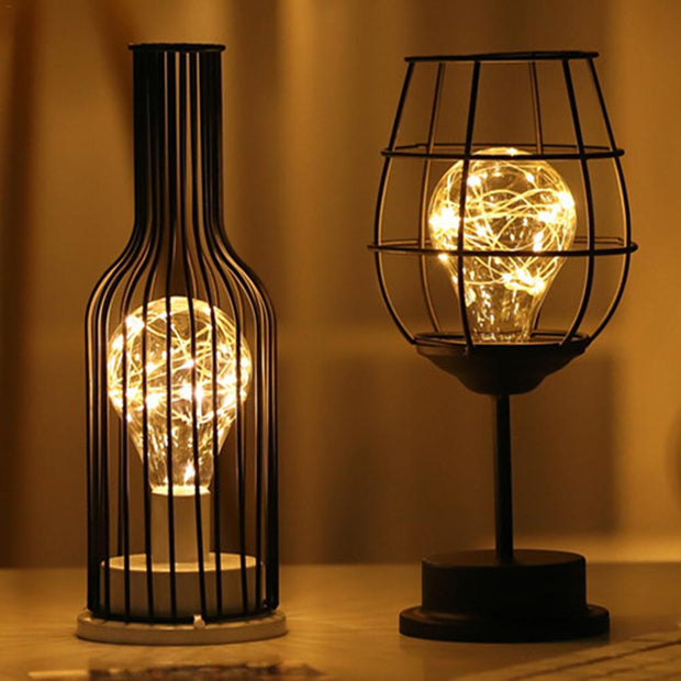 Retro Iron Art Lamps