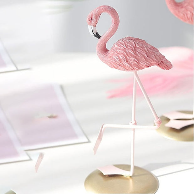 Lovely Cute Flamingo Desk Decor