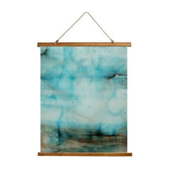 wood top wall hanging by tremundo